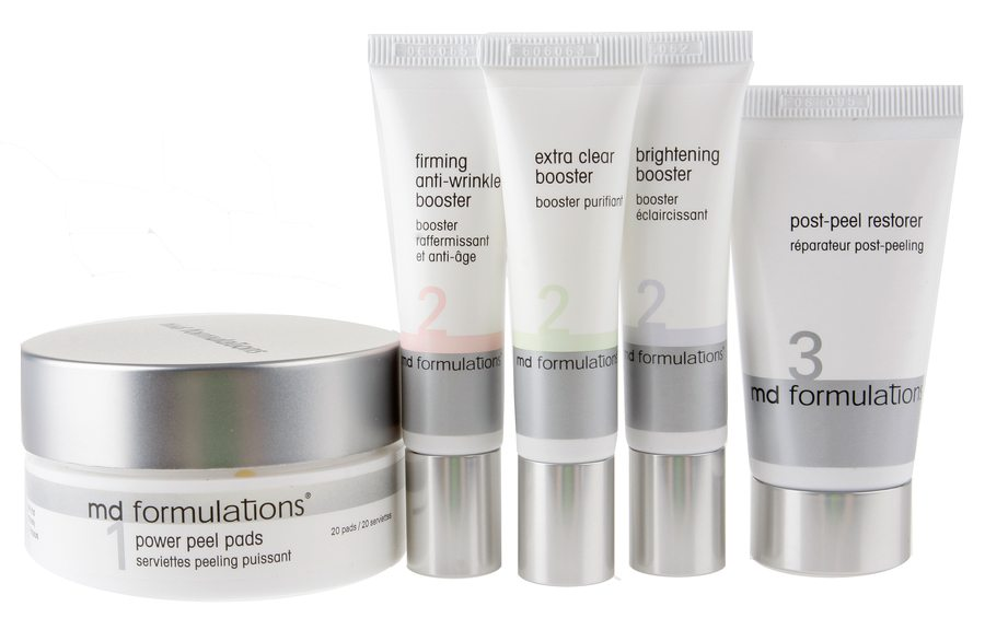 Md Formulations My Personal Peel System 5 Delers Sett