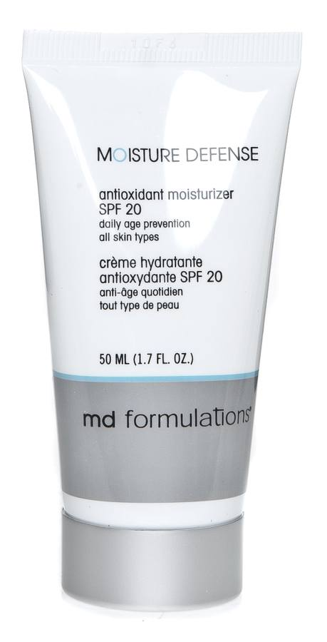 Md Formulations Moisture Defence Antioxidant Moisturizer Spf20 50ml
