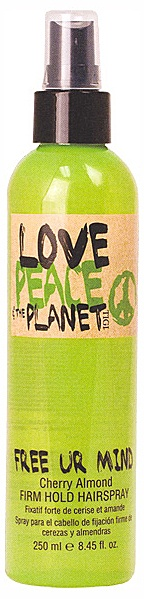 Tigi Love Peace & The Planet Free Ur Mind Firm Hold Hairspray 250ml
