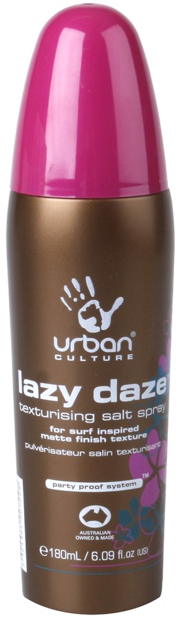 Urban Culture Lazy Daze Texturising Salt Spray 180ml