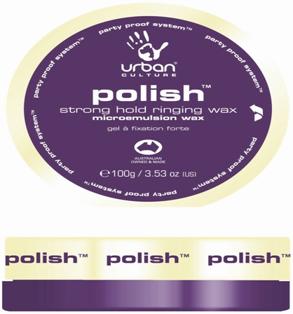Urban Culture Polish Strong Hold Ringing Wax 100g