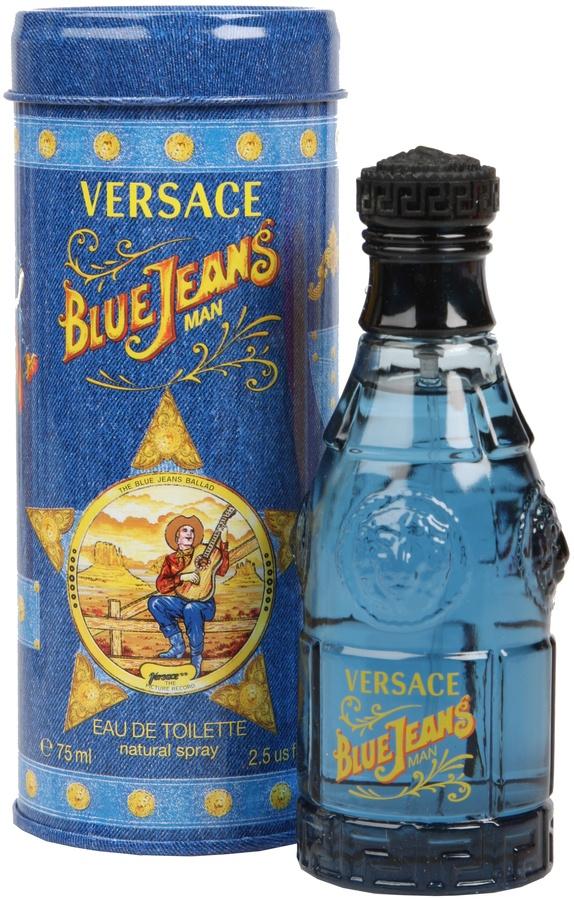 Versace Versus  Blue Jeans Eau De Toilette For Han 75ml