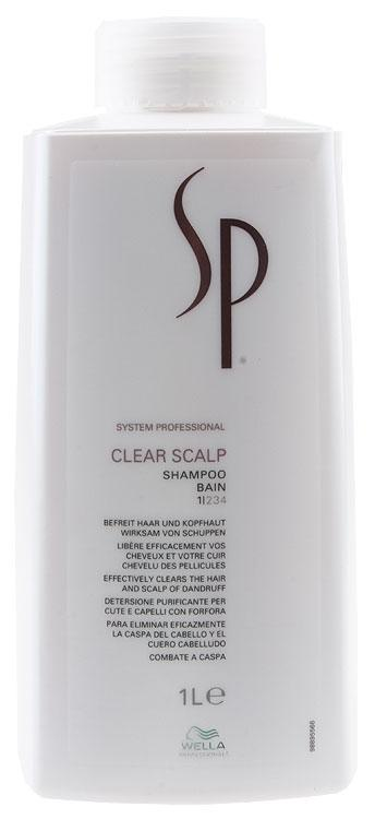 Wella Sp Clear Scalp Shampoo Uten Pumpe 1000ml