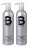 Tigi Bedhead For Men - B Charge Up Shampoo Og Balsam 2 X 750ml  (TIB0126)