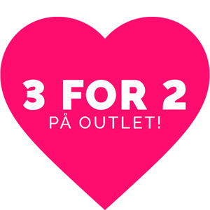 3 for 2 på outlet