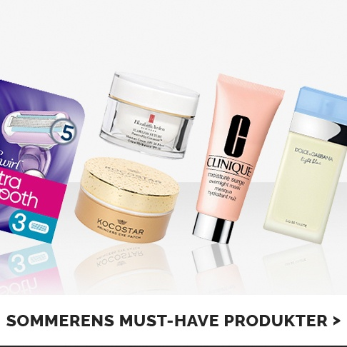 Sommerens must-haves!