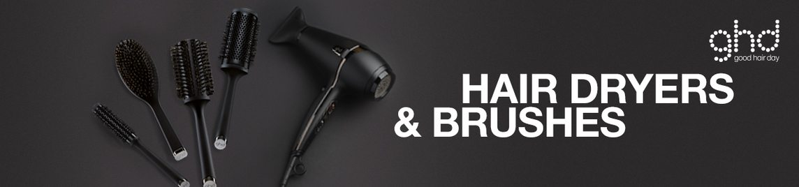 ghd Hair Dryers & Brushes banner
