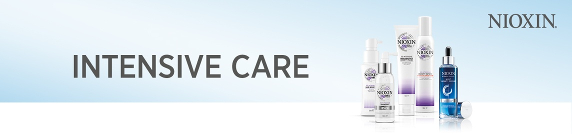 Nioxin Intensive Care banner